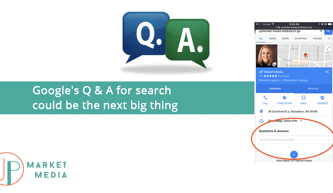Google's Q & A for search could be the next big thing