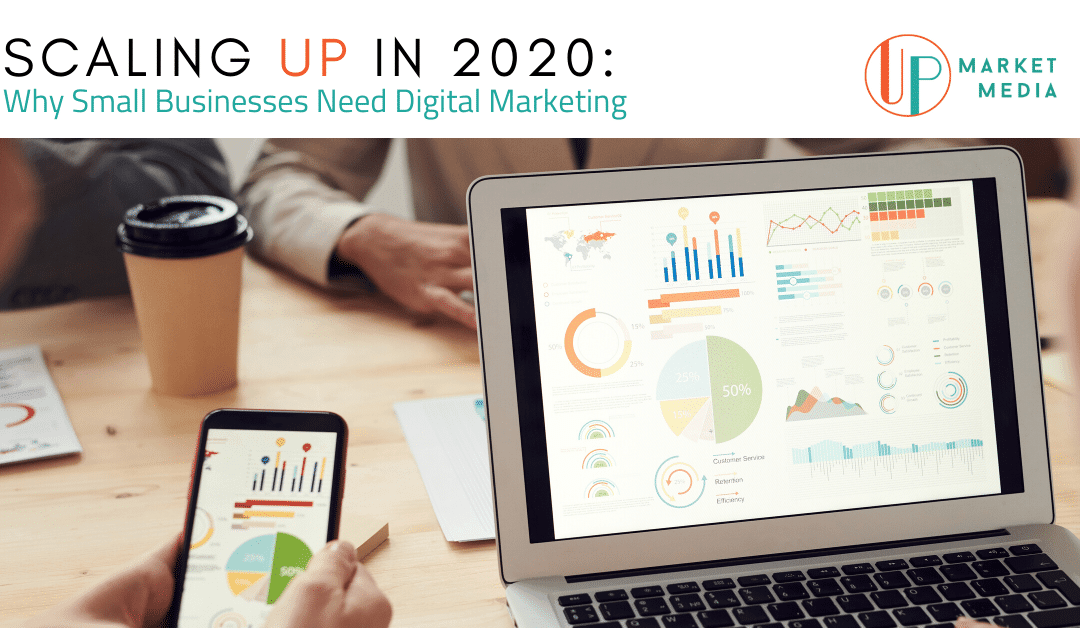 Scaling UP: Why Small Businesses Need Digital Marketing in 2020