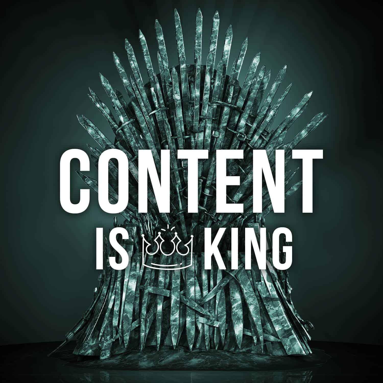 Content is Still King | Up Market Media | SEO Company